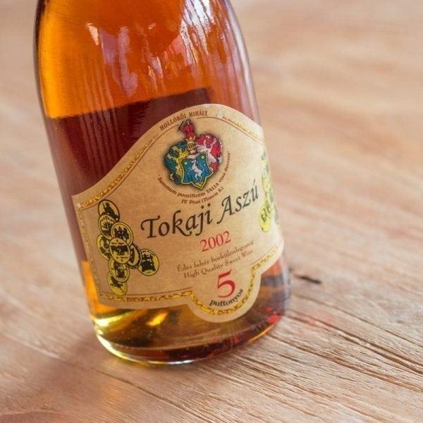 Tokaji Aszu 5 puttonyos 2002 0,5 ltr. - Hollókői Mihály-156