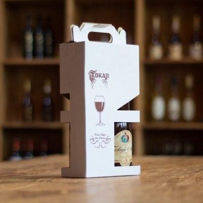 Kartonnen geschenkverpakking voor 2 flessen-0