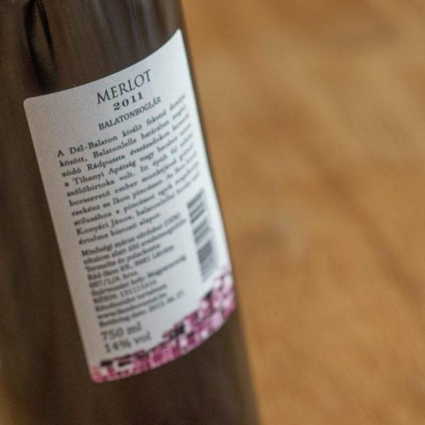 Merlot 2011 0,75 ltr. - Ikon-525