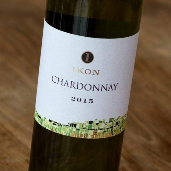 IKON Chardonnay label voorzijde