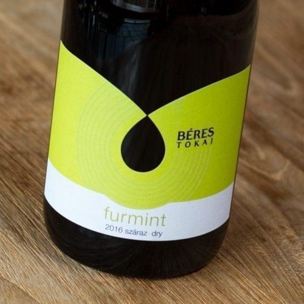 Béres Furmint dry label voorzijde