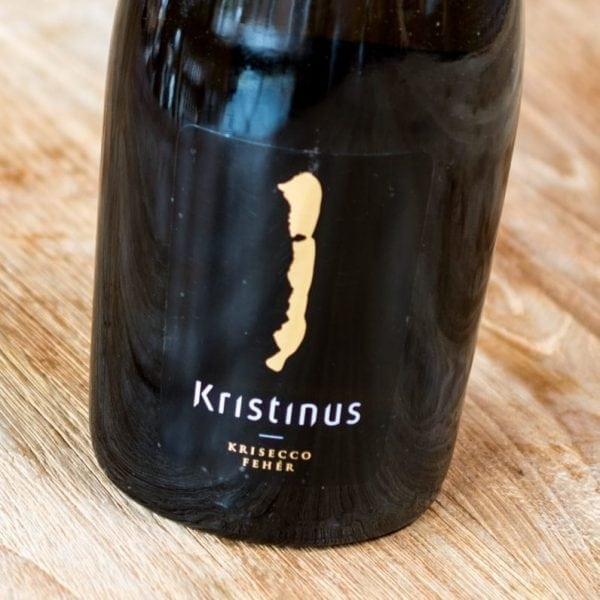 Kristinus Krisecco Fehér label front