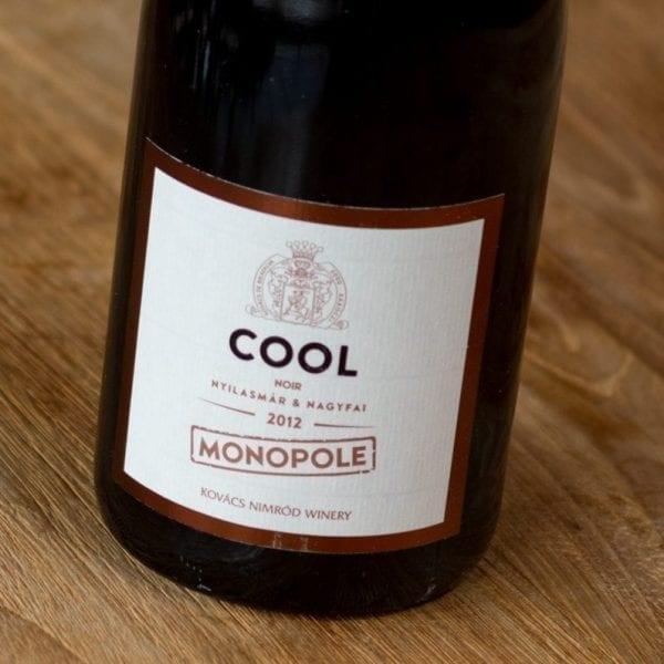 Monopole Cool Noir label voorzijde