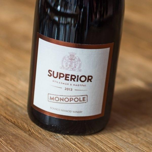Monopole Superior 2013 Label Voorzijde