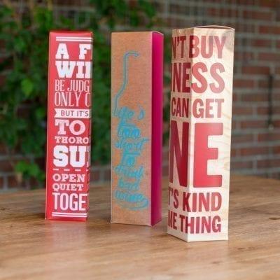 Geschenkverpakkingen 1-fles